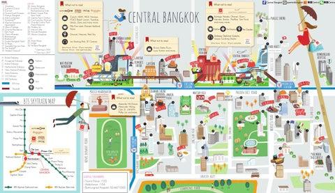 Central Bangkok Map By Travel Leisure Southeast Asia Issuu - Us embassy bangkok map