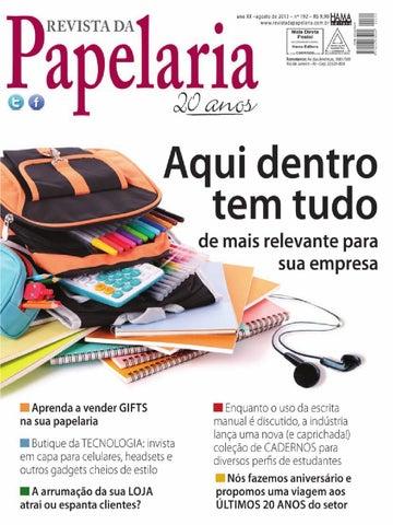 Revista da Papelaria 192 by Hama Editora - issuu 3467cae355