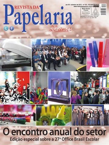 9d589f9a1 Revista da Papelaria 193 by Hama Editora - issuu