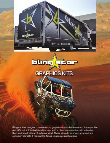 Blingstar UTV Graphics Kits by Tim LaPaglia - issuu