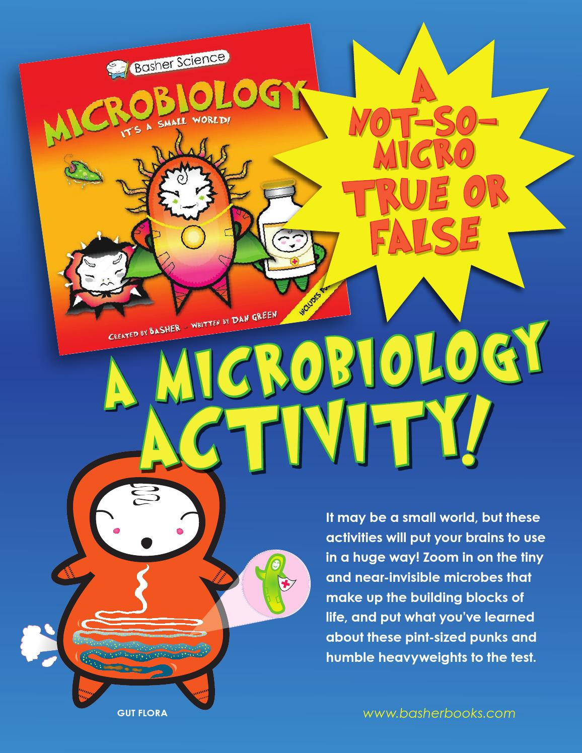Basher Science: Microbiology Book Activities by Kingfisher - Macmillan -  issuu