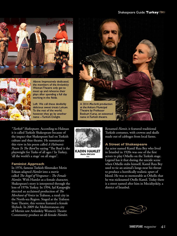 Shakespeare magazine 07 by Shakespeare Magazine - issuu