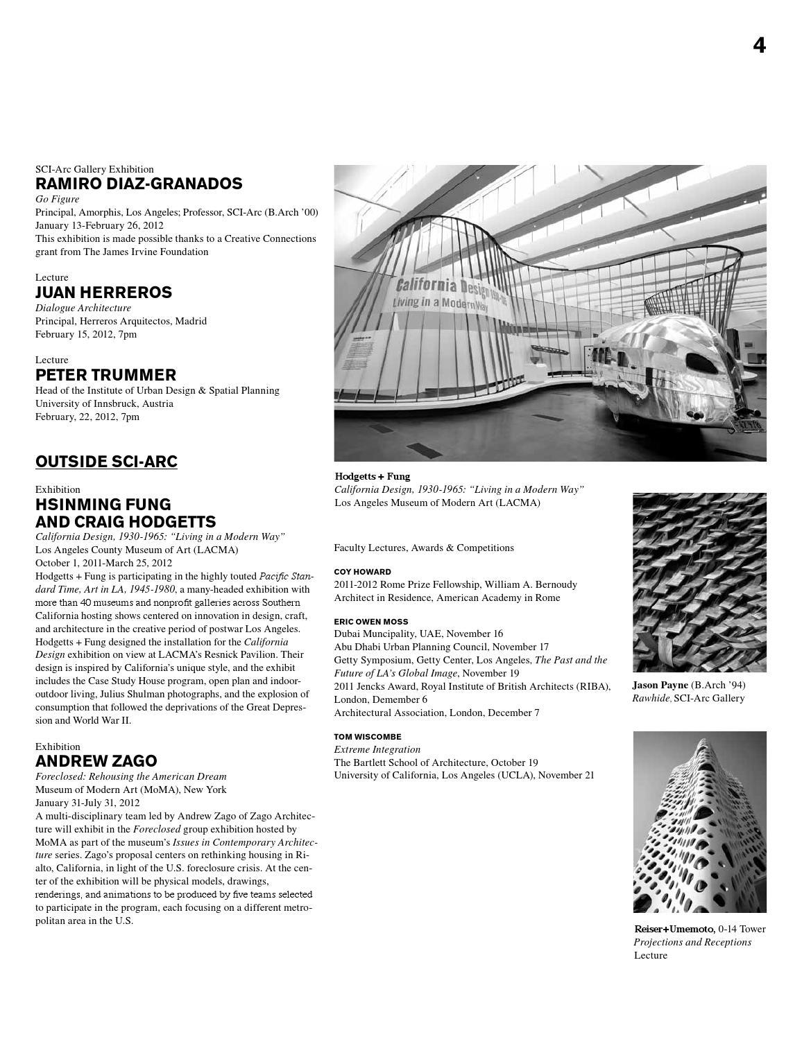 SCIArc Magazine No 3 (Fall 2011) by SCI-Arc - issuu