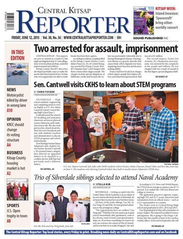 Central Kitsap Reporter June 12 2015 By Sound Publishing Issuu