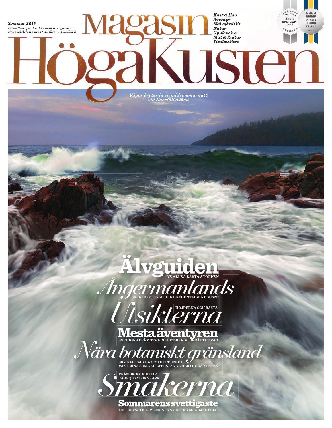 Magasin Höga Kusten 2015 by Devocy Communication - issuu 4881c6c78afda