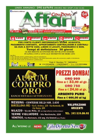 Giornale Affari 9 Settembre 2011 by Editoriale Affari Srl - issuu 197dab22d51
