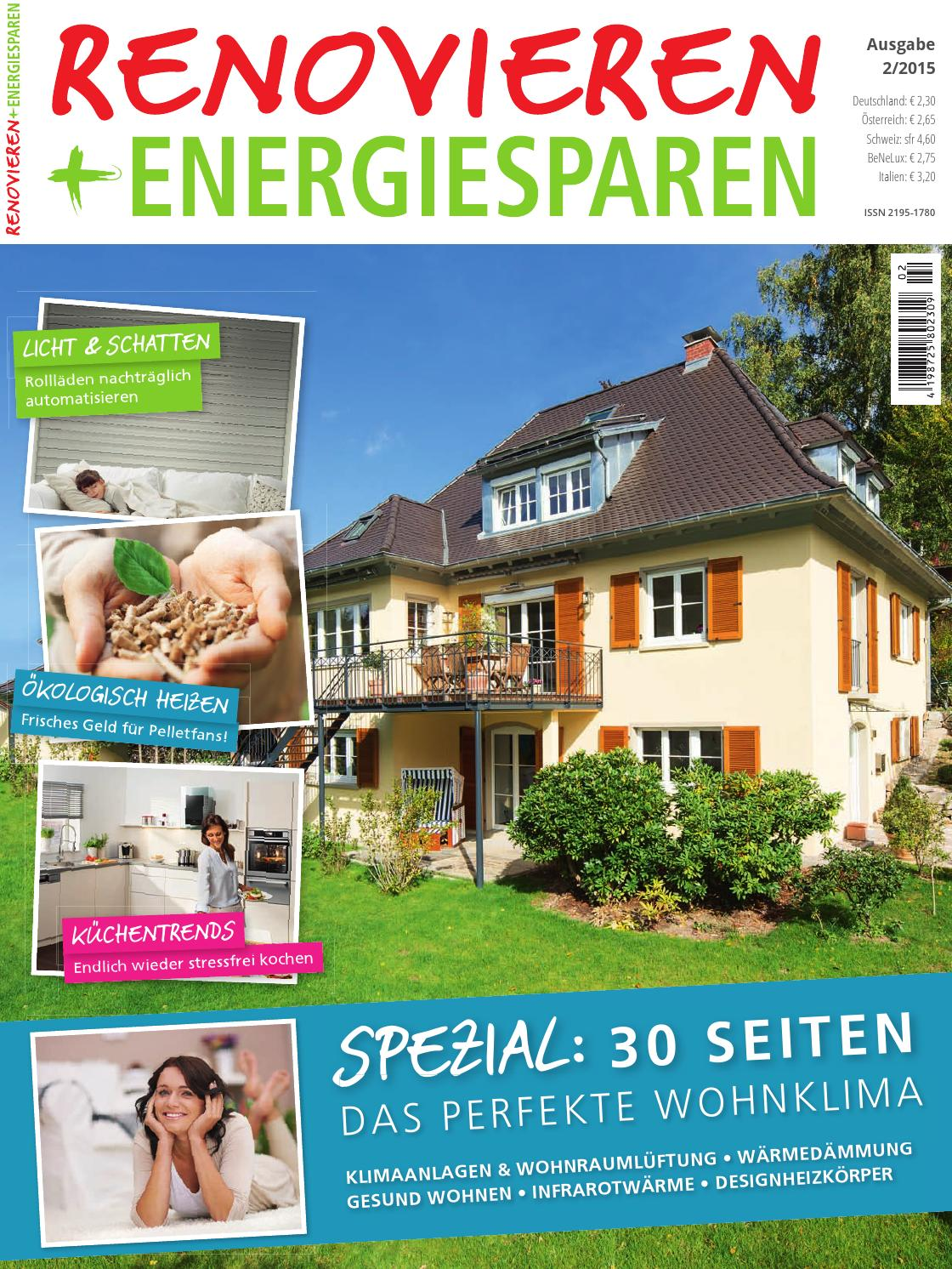 Renovieren & Energiesparen 2/2015 by Family Home Verlag GmbH - issuu