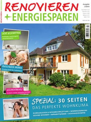 Renovieren U0026 Energiesparen 2/2015 By Family Home Verlag GmbH   Issuu