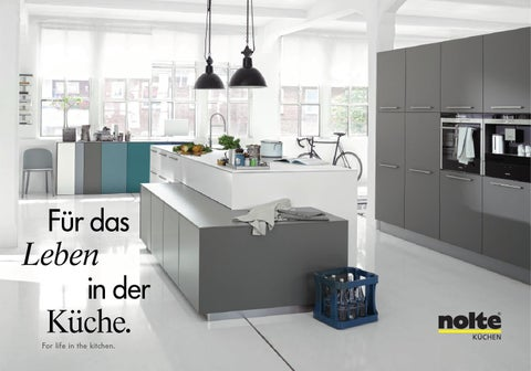 nolte kuechen katalog 2015 by perspektive werbeagentur issuu. Black Bedroom Furniture Sets. Home Design Ideas
