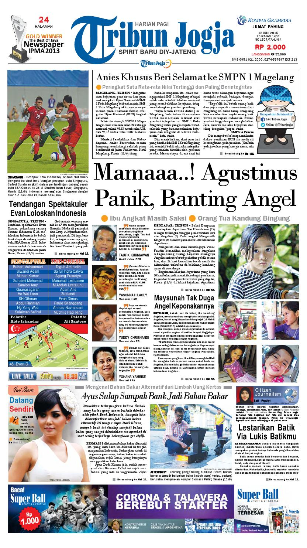 Tribunjogja 12 06 2015 By Tribun Jogja Issuu Produk Ukm Bumn Kain Batik Middle Premium 3 Bendera 01
