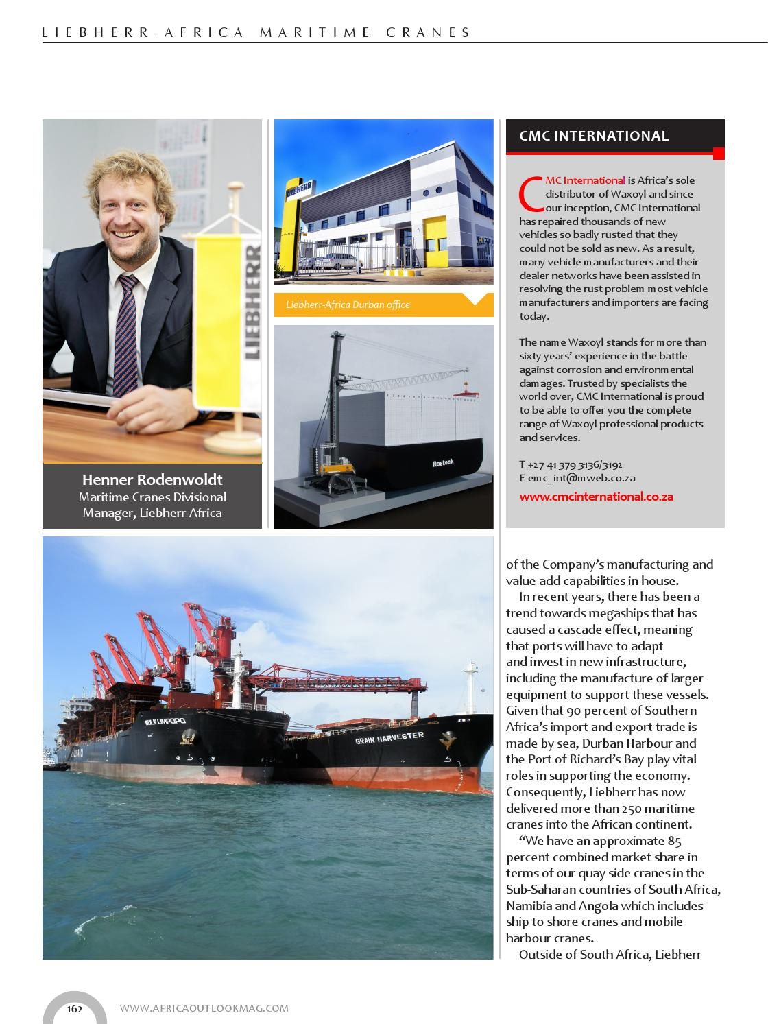 Africa Outlook - Issue 27 by Outlook Publishing - issuu