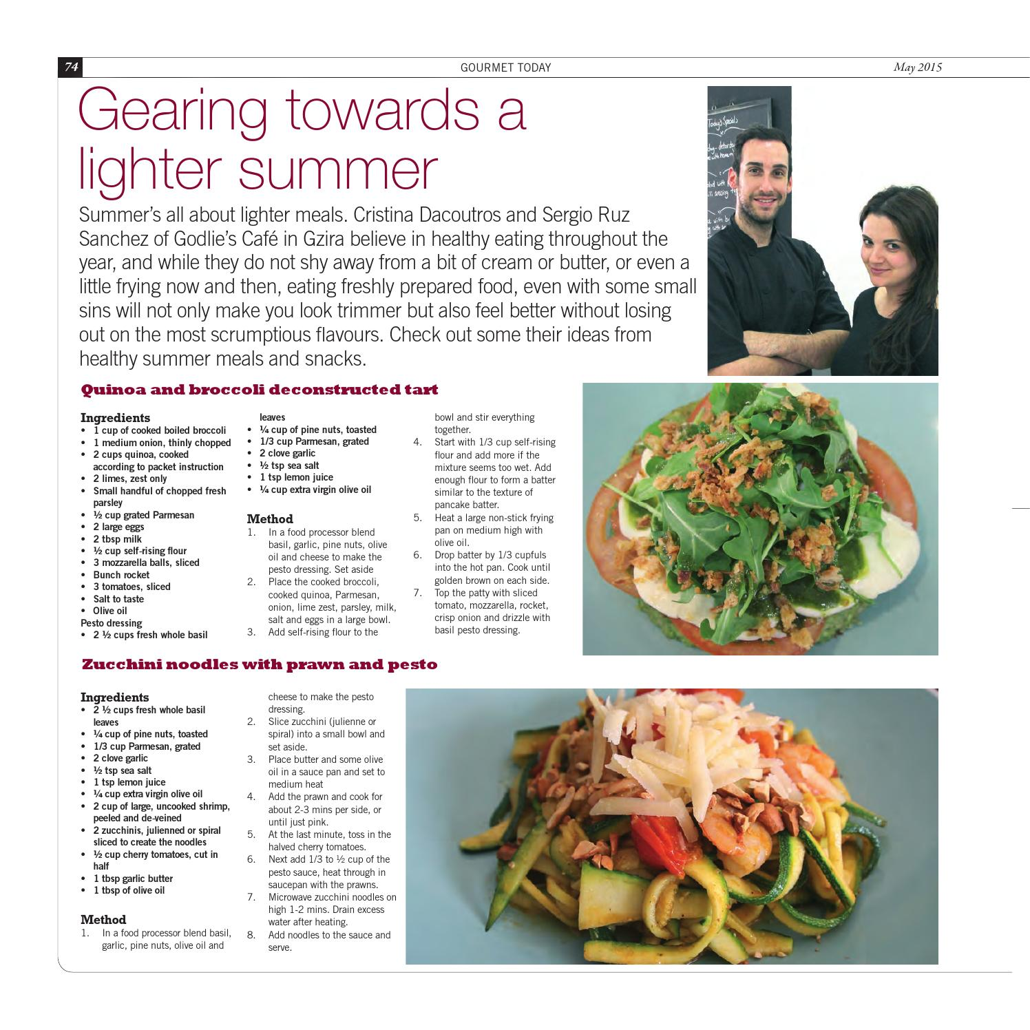 35ffef58451 Gourmet Today Issue 34 by MaltaToday - issuu