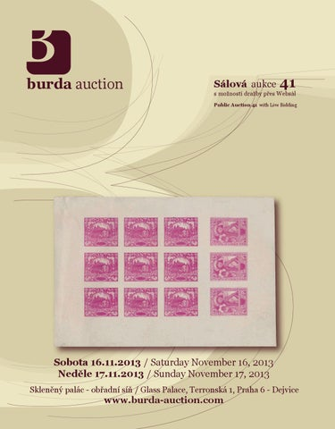 2ce3bcf99d7 Public Auction 41 - Auction catalogue by Burda Auction s.r.o. - issuu