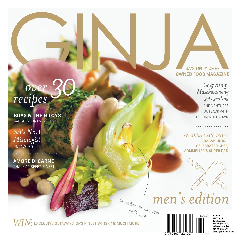 GINJA Food & Lifestyle Magazine Apr Jul '15 by GINJA Food Media (Pty) Ltd -  issuu
