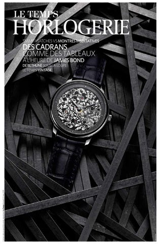 121f4bf2bb5f Hors-série Horlogerie 2015 by Le Temps - issuu