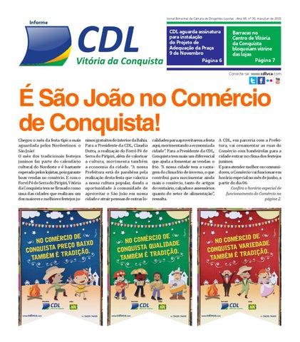 dfd02f5603a9e Jornal da CDL - Junho 2015 by CDL Vitória da Conquista - issuu