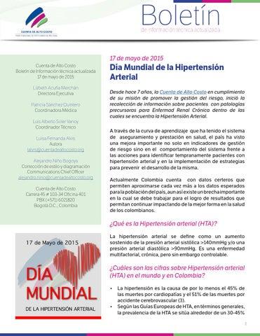 Datos mundiales de hipertensión arterial