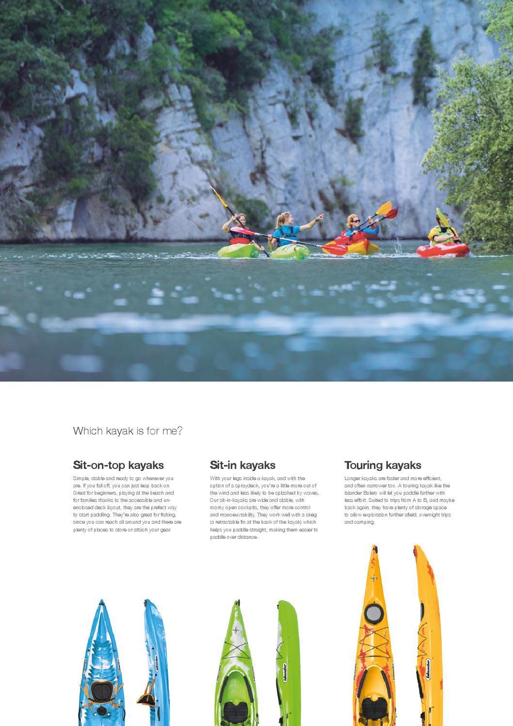 Islander Kayaks 2015 Catalogue By Palm Equipment Issuu