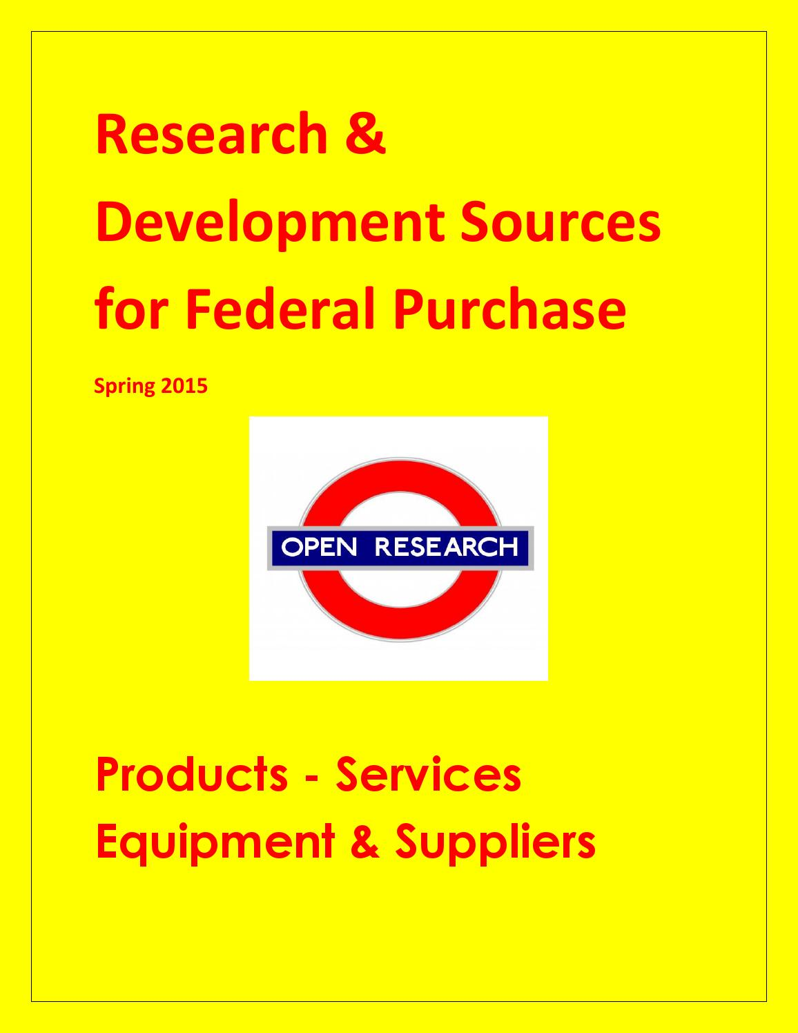 Research And Development Sources For Federal Purchase By Dr Kevin Women Casual Shoes 43240 Navy Yellow 41 Buyers Guide Inc Issuu