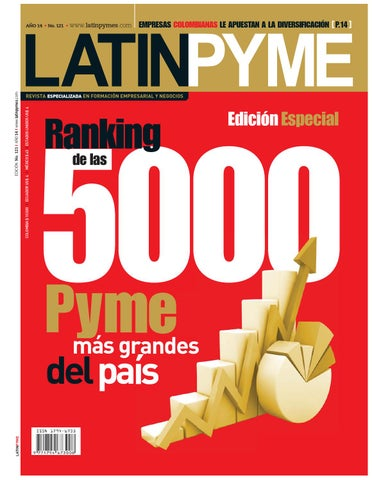 Revista latinpyme N.121 by LATINPYME - issuu