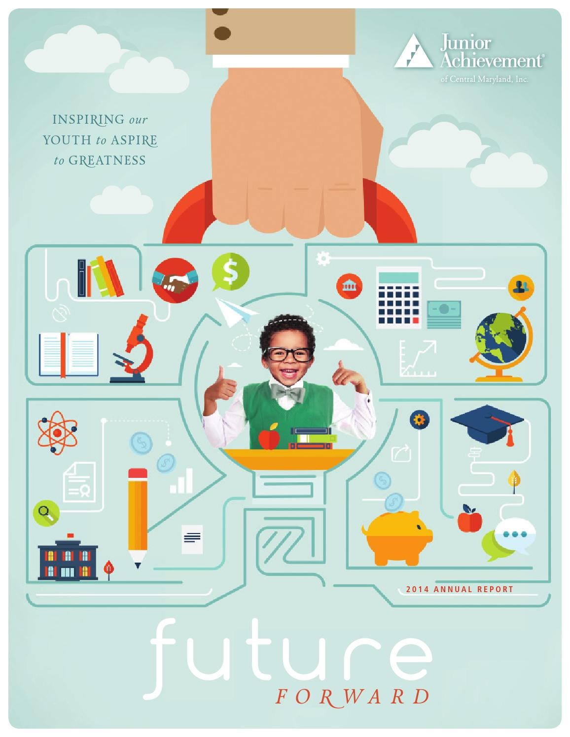 Junior Achievement Of Central Maryland Annual Report 2014 By Ullman