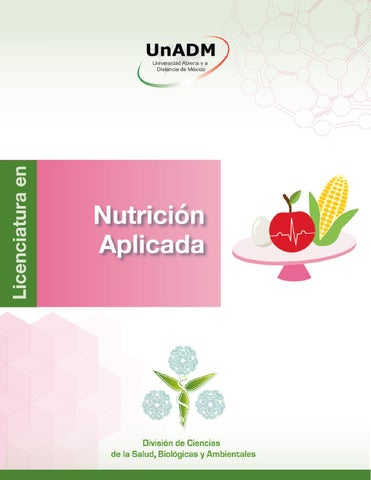 Folleto nut carrera by Nutrición Aplicada unadm - issuu