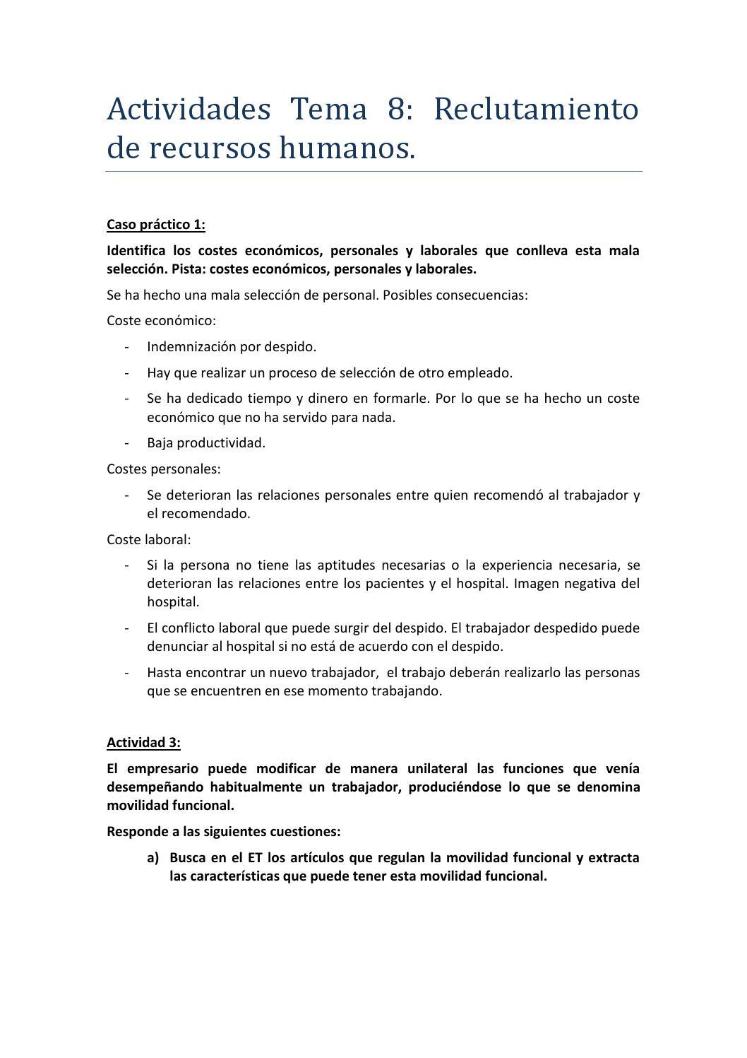 Actividades tema 8 by nerea issuu for Trabajo de interna en barcelona