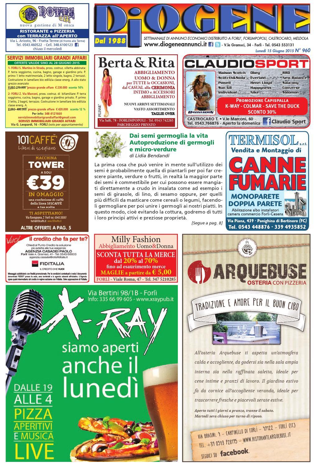 Diogene Annunci 15 06 by Diogene Annunci - issuu 5b467893017