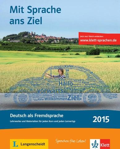Klett Langenscheidt Katalog Deutsch Als Fremdsprache 2015 By