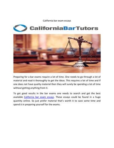 California bar exam essays by theta healing - issuu