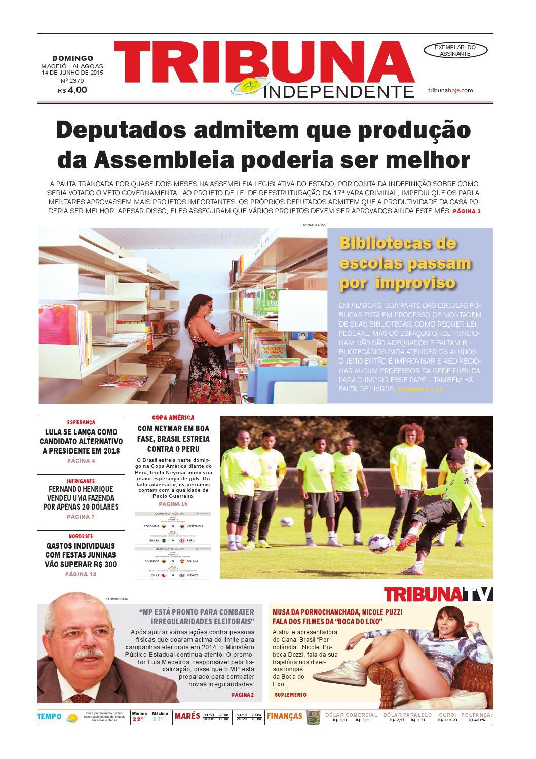 Edição número 2370 - 14 de junho de 2015 by Tribuna Hoje - issuu 4c47ca1270f
