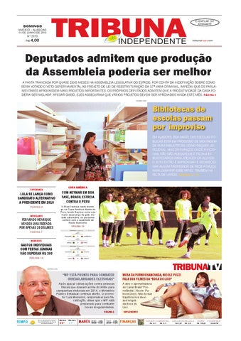 49e5c5674d3 Edição número 2370 - 14 de junho de 2015 by Tribuna Hoje - issuu