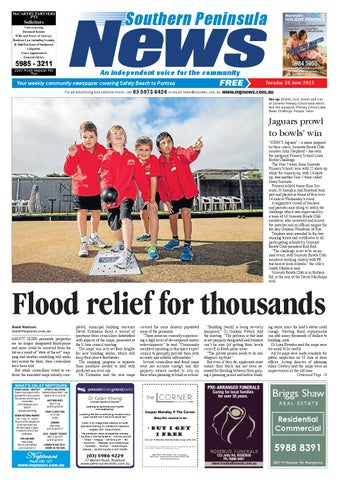 3d5eaefc6ed47 16 June 2015 by Mornington Peninsula News Group - issuu