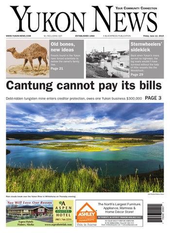 Yukon News June 12 2015 By Black Press Issuu