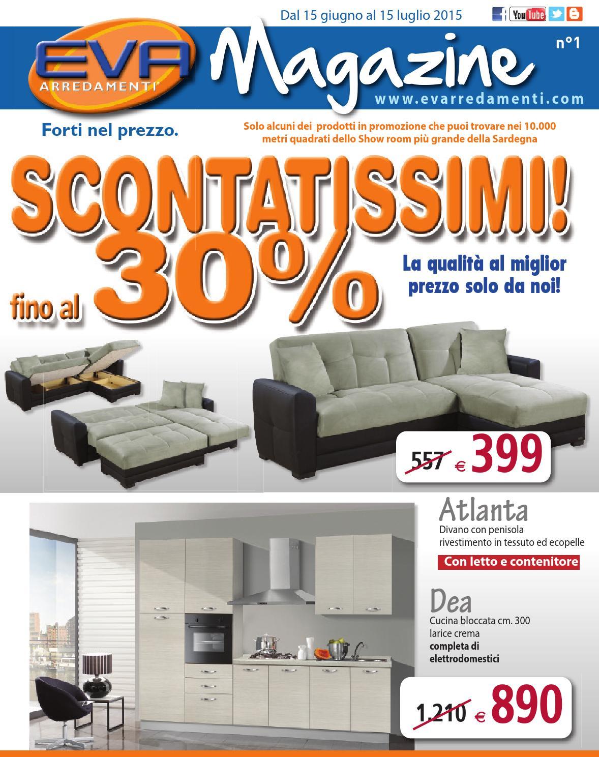 Eva magazine n 1 by mobil clam s r l issuu for Eva arredamenti