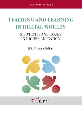 Teaching and learning in digital worlds by publicacions universitat page 1 fandeluxe Choice Image