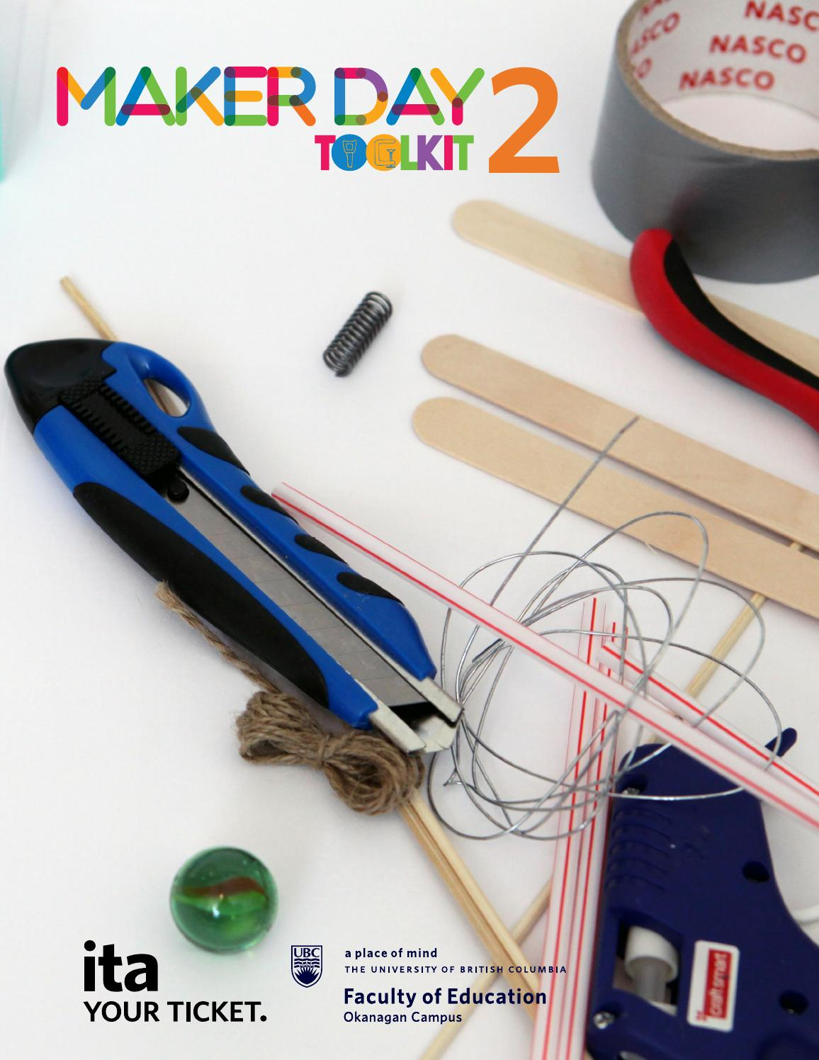 Maker Day Toolkit Ver 2 Innovative Learning Centre By Ubcedo Issuu Connecting Batteries In Series Experiment Educationcom