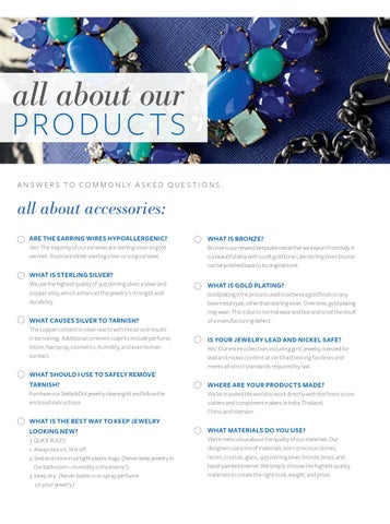 Information On Stella Dot Products