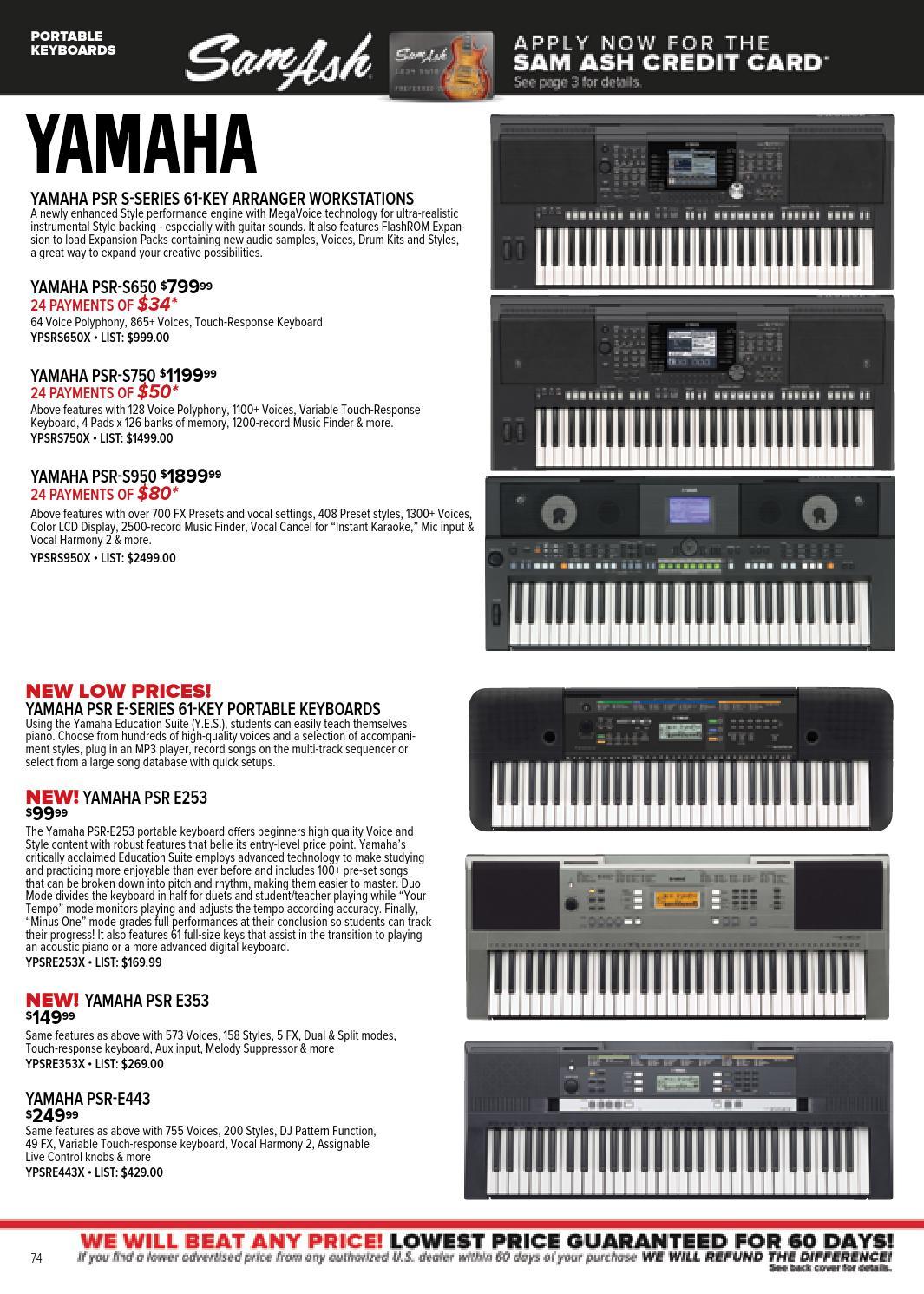 Sam Ash Music Summer 2015 Catalog By Sam Ash Music Corp