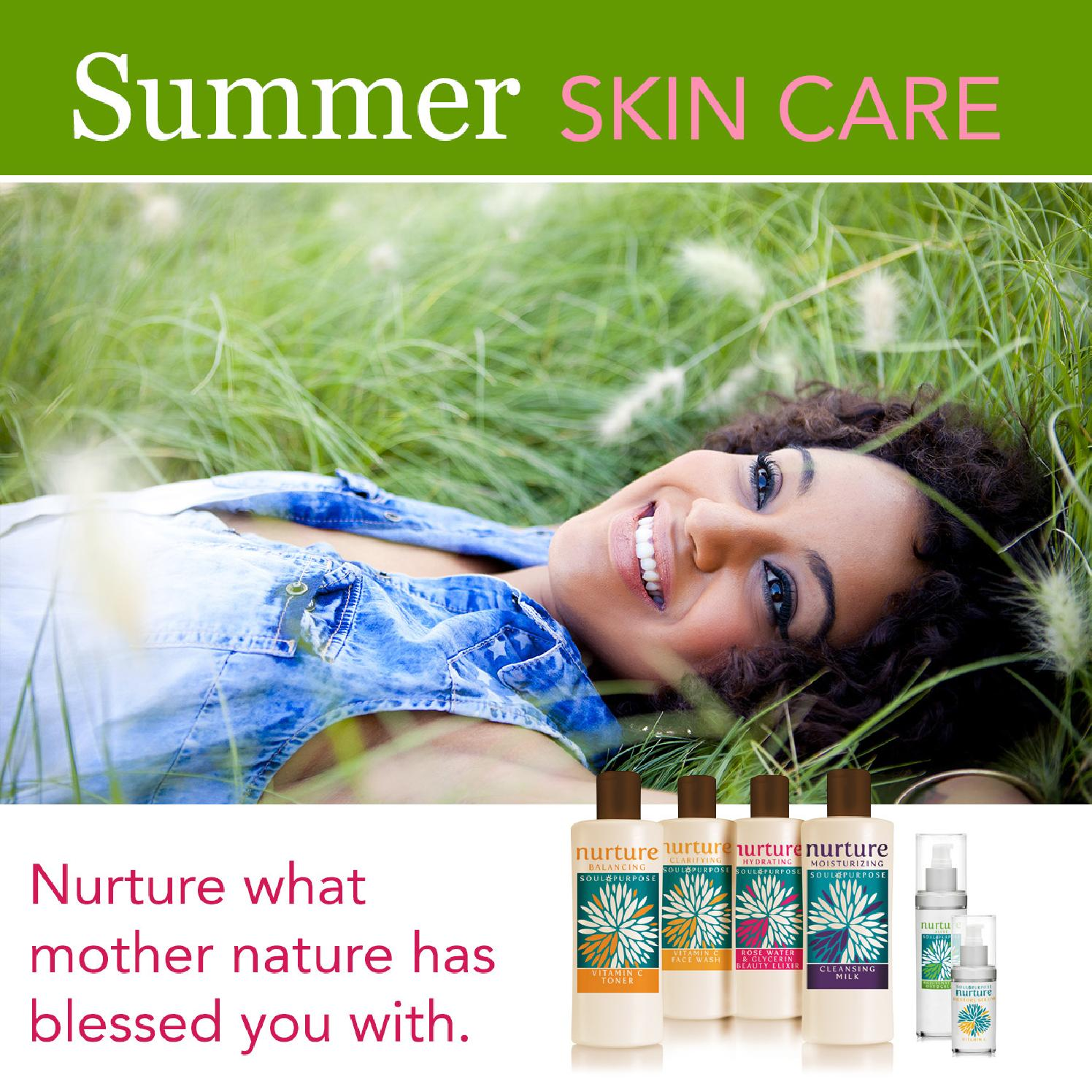 Summer Skin Care: Soul Purpose Summer Skin Care Guide By Soul Purpose