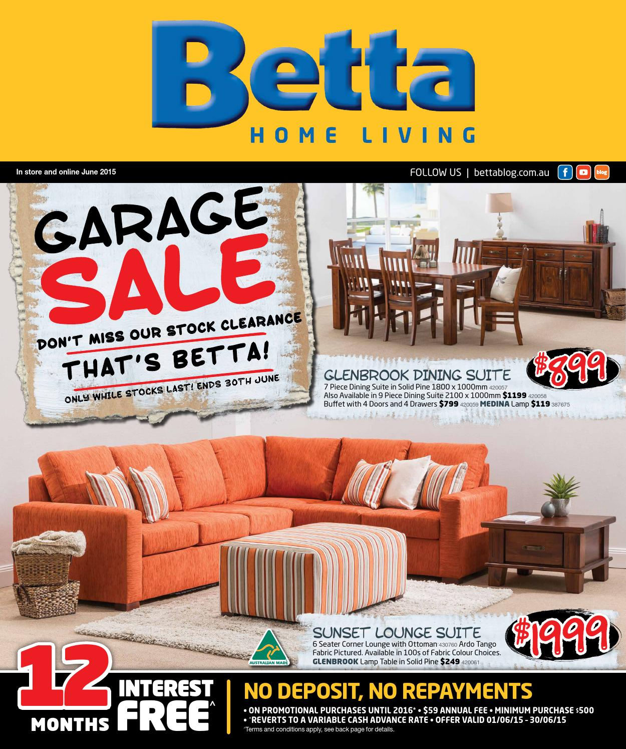 Betta Home Living Furniture Catalogue June 2015 By Echo Publications Issuu
