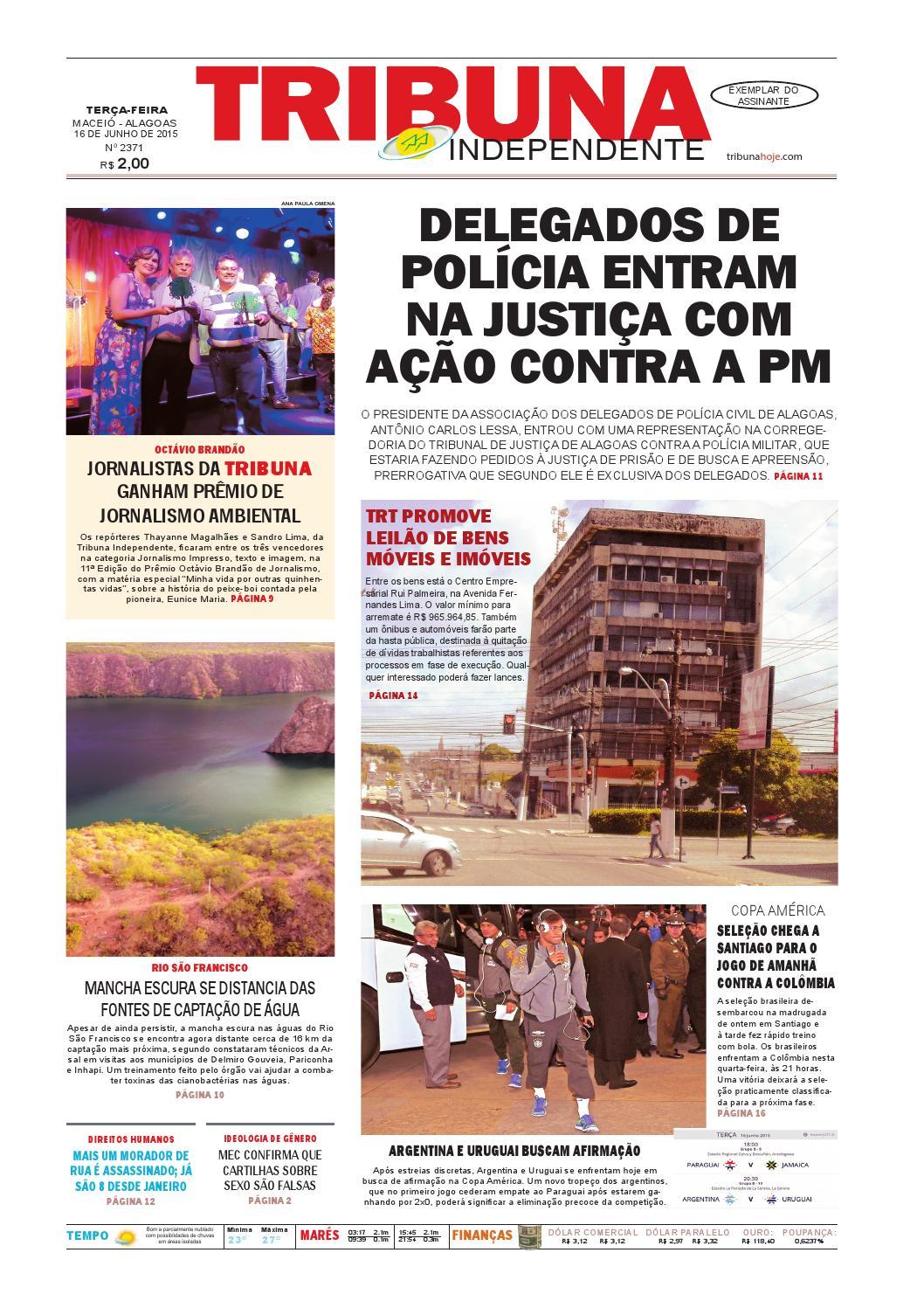 e2f65d47398a8 Edição número 2371 - 16 de junho de 2015 by Tribuna Hoje - issuu
