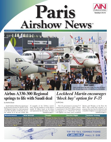 Paris airshow news 06 16 15 by aviation international news issuu page 1 fandeluxe Image collections