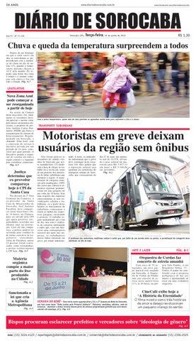 0f8db47f2462b Edição de 16 de junho de 2015 by DIÁRIO DE SOROCABA - issuu