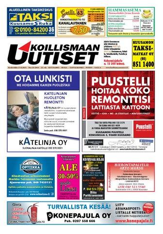 Koillismaan Uutiset 25 2015 by Koillismaan Uutiset Oy - issuu fd4c81d8d4