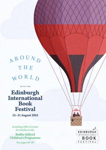 2015 Edinburgh International Book Festival Brochure By Edinburgh