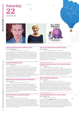2015 Edinburgh International Book Festival Brochure By Edinburgh