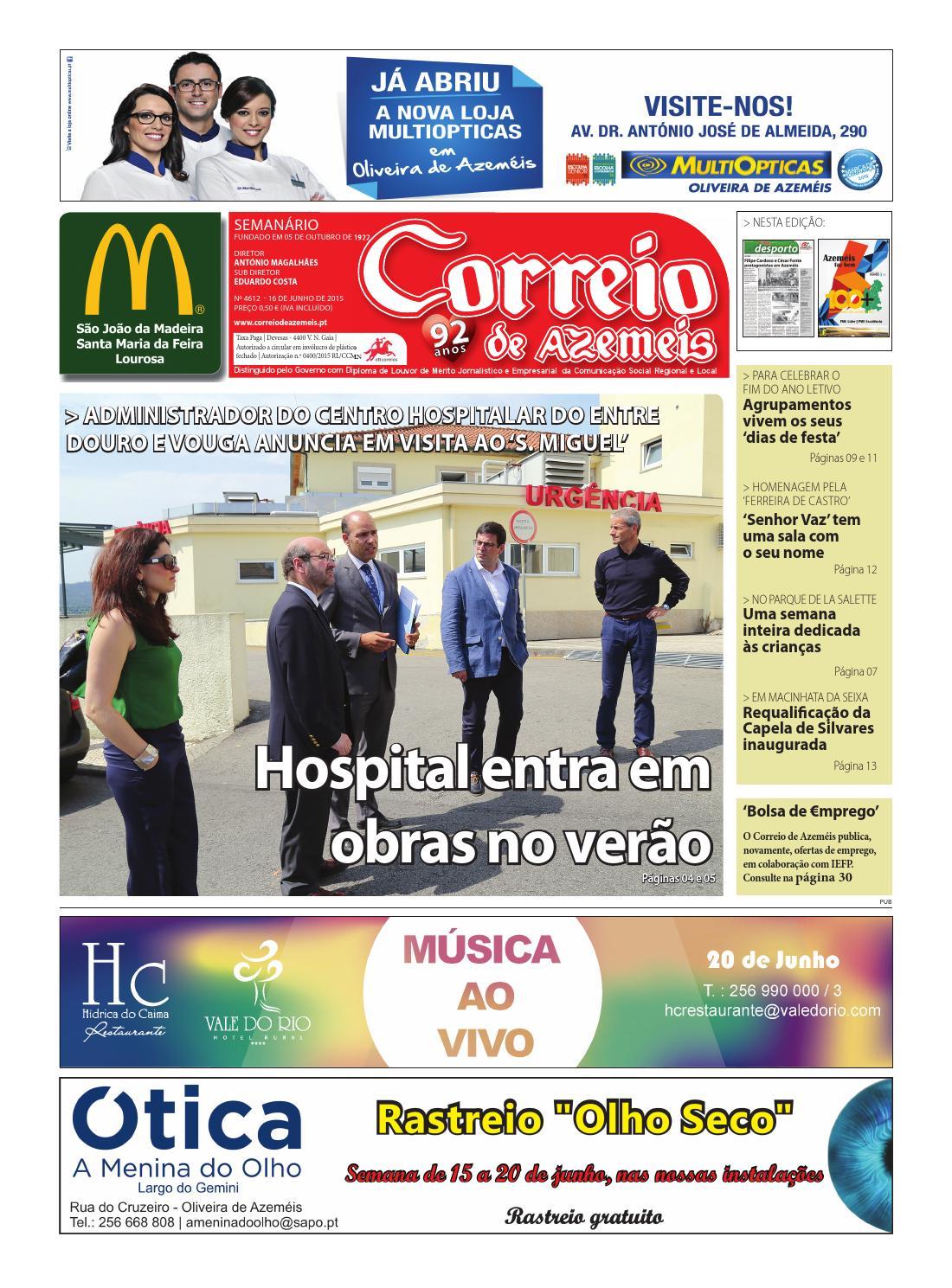 16 06 2015 by Correio de Azeméis - issuu 8cdcc8795f