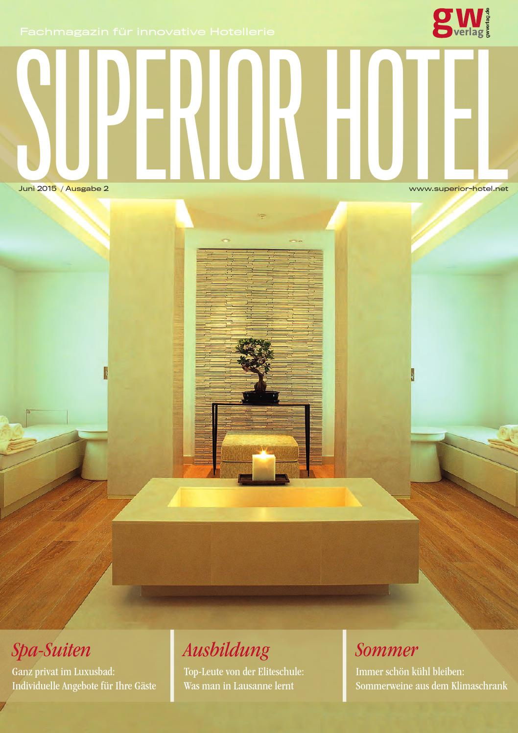 Superior Hotel 2/15 by GW VERLAG - issuu