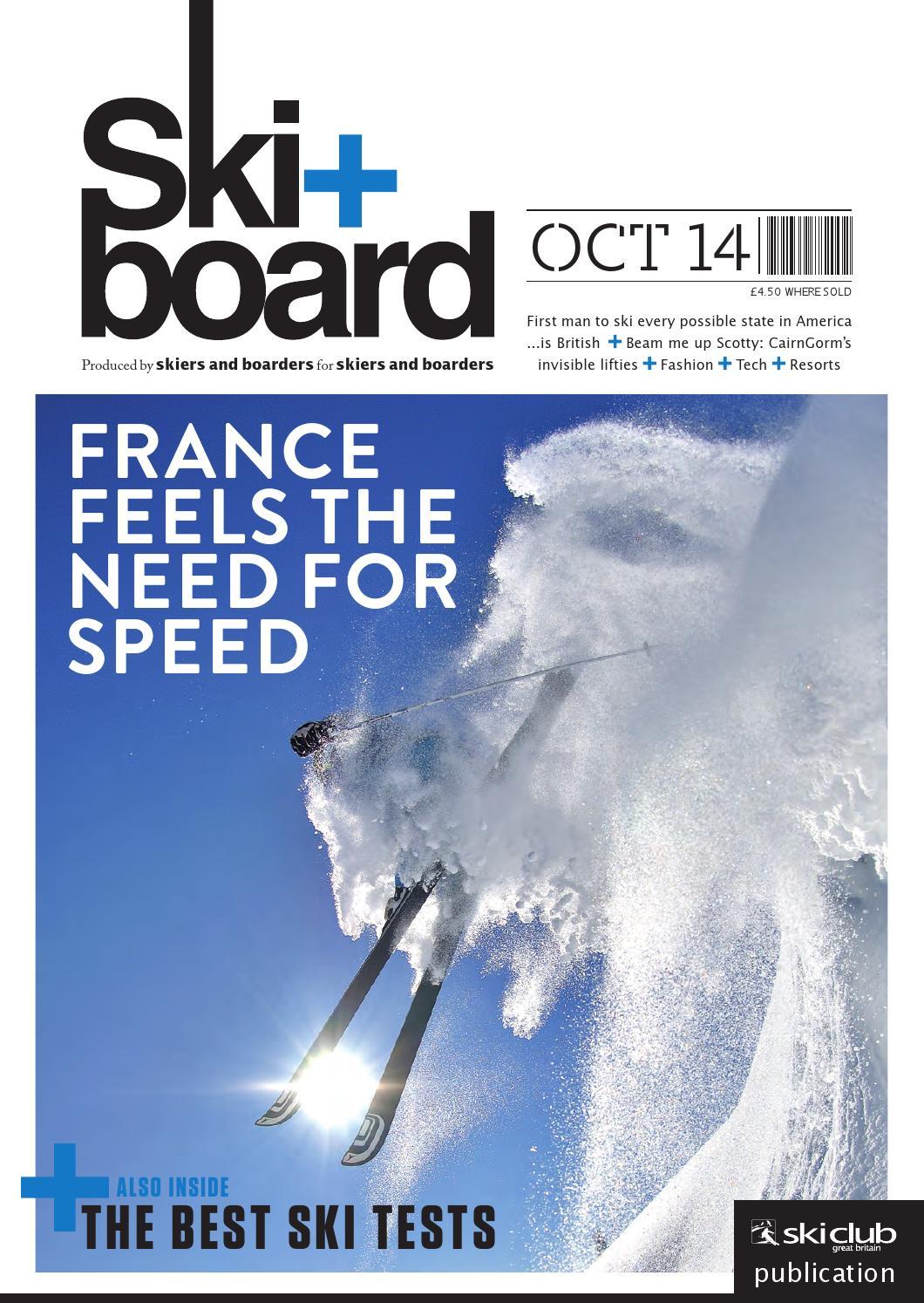 42b79282f63 Ski+board October 2014 by Ski Club of Great Britain - issuu